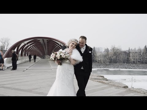Father of the Bride has a hard time finishing his speech! | Taya & Peter, March 23, 2019
